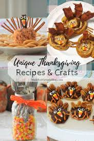 thanksgiving recipes and crafts