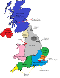 A Map Of England by How North Londoners View The Rest Of The Uk Or Why The Rest Of The