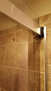 installing glass shower doors installation kohler levity sliding shower door 74