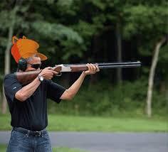 Obama Shooting Meme - image 493210 obama skeet shooting photo know your meme