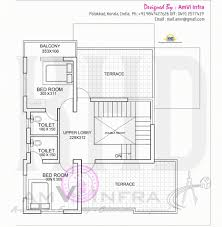 home design engineer stylish floor plan and elevation of flat roof villa kerala home