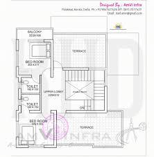 home design engineer stylish floor plan and elevation of flat roof villa kerala home