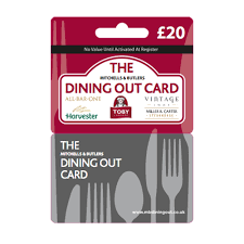 dining gift cards m b dining 20 gift card at wilko