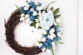 diy floral grapevine wreath for spring randi with an i
