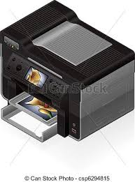 bureau imprimante isométrique imprimante bureau jet encre colorez photo