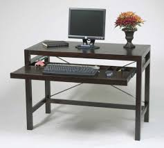 Black Wood Office Desk Wood Office Desk Added For Extra Comfort In Finishing Project