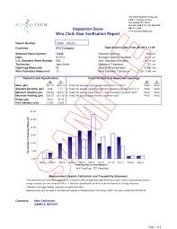 calibration report template certificate of inspection template choice image templates