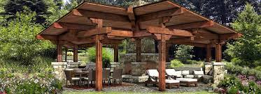 Trailwind Timber Pavilion Custom Outdoor Pavilion