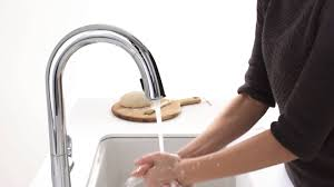 touch kitchen faucet sensate touchless kitchen faucet youtube