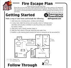 evacuation plan templates tomu co