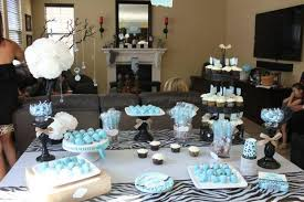 blue baby shower safari themed baby shower baby shower ideas themes