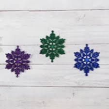 20pcs set snowflake pendant ornaments hanging pieces of