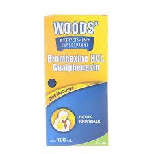 Obat Woods woods peppermint expectorant 100ml kirim belanja