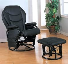 Black Leather Recliner Chair Recliner Chair With Ottoman Manufacturers Recliner Chair With