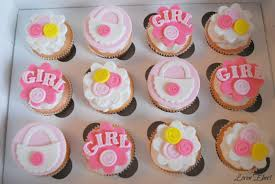 cupcakes for baby shower girl the baking sheet baby shower cupcakes girl