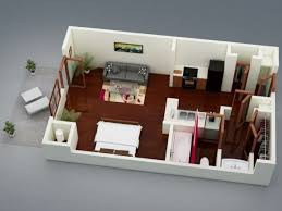 one bedroom cottage plans one bedroom cottage floor plans 50 studio type single room house lay out and interior design