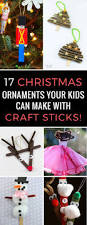 17 homemade christmas decorations for kids to make with popsicle