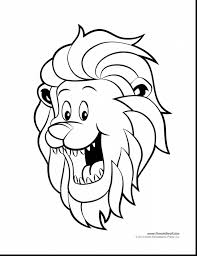 fabulous lion head coloring pages with lion coloring pages