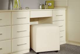 Wardrobe Designs For Bedroom With Dressing Table A Shot Of An Example Of A Dressing Table From The Linea Cream