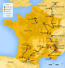 Provence Map The Tour De France 2017 In English Route And Map Tour De France