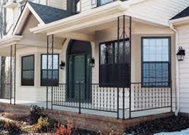 painted iron railings for porch metal porch railing porch