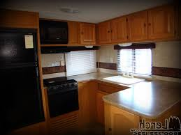 Rear Kitchen Rv Floor Plans by Rear Kitchen Travel Trailer Kenangorgun Com