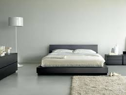 bedroom charming bedroom design with grey low bed and bedside