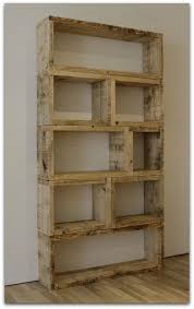 Simple Wood Bookshelf Designs by Objects Recycled Wood Classy Woods And Shelves