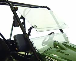 amazon com kolpin full tilt windshield for rhino 1487 kolpin