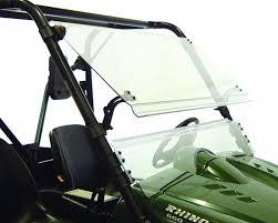 amazon com kolpin full tilt windshield for rhino 1487 kolpin