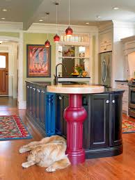 Painting A Kitchen Island Painting Kitchen Cabinets Pictures Options Tips U0026 Ideas Hgtv