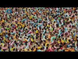 crowded wave pool in china youtube