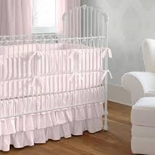 Solid Pink Crib Bedding Pink Baby Bedding Pink Baby Crib Bedding Carousel Designs