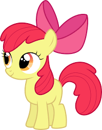 bloom cmc apple bloom on mlp vectorclub deviantart