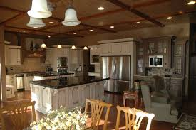 custom painted and glazed french country kitchen by custom corners