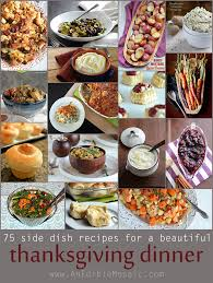 side dish recipes for a beautiful thanksgiving dinner