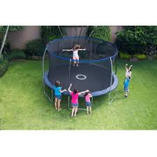 trampoline black friday sale bouncepro 14 u0026apos trampoline with proflex enclosure and electron