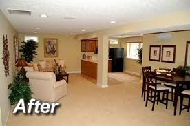 Finished Basement Apartment Great Use Of Light Colors And - Designing a basement apartment
