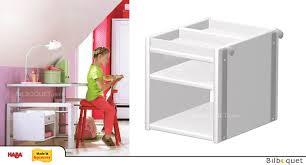 bureau haba rayonnage à suspendre pour le bureau matti haba meubles chambre
