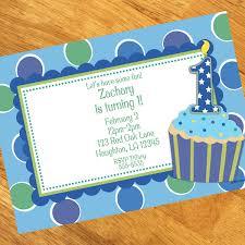 1st birthday boy cupcake 1st birthday boy personalized invitations