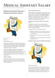 Medical Assistant Job Description For Resume by Medical Assistant Resume