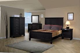 Sonoma Platform Bed - bedroom furniture black fallacio intended for contemporary