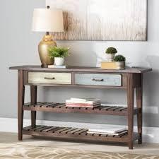 Sofa Table Against Wall Console Sofa And Entryway Tables You U0027ll Love Wayfair