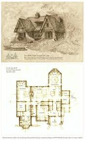 Tudor Floor Plans by Top 25 Best Cottage Floor Plans Ideas On Pinterest Cottage Home
