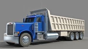 dump truck 3d model u2013 3d horse