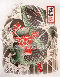 snake tiger tattoo japanese snake