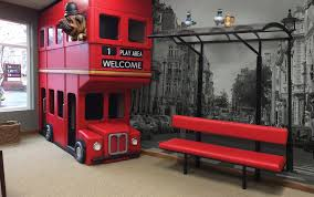 themed custom seating for waiting rooms and reception areas
