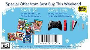 wii u on black friday weekend best buy discounts on nintendo products revealed as