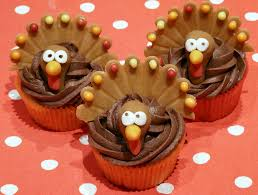 thanksgiving turkeys cupcake style thanksgiving