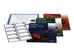 training kit support materials